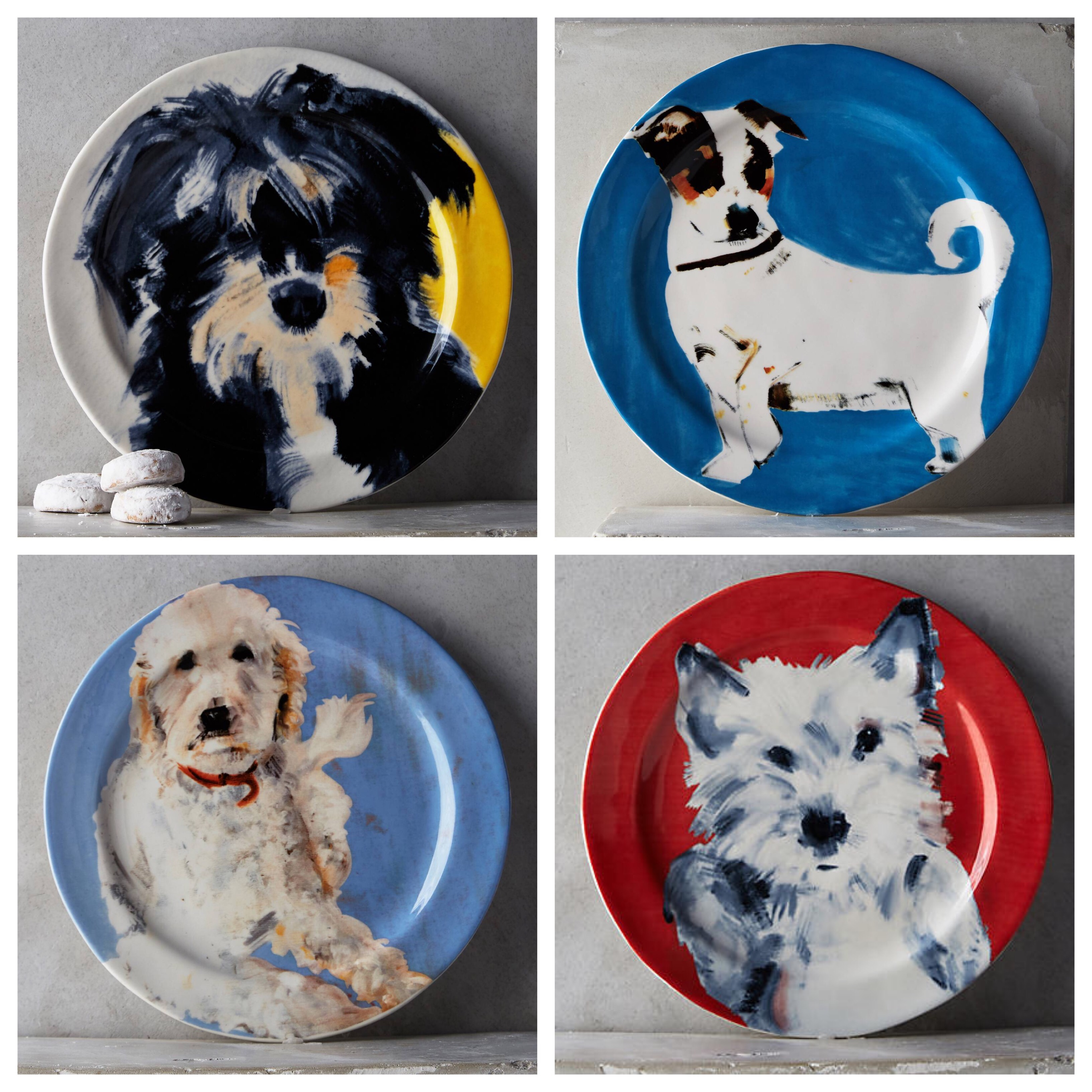 sally muir s pup portraits arne 39 s house On sally muir dog plates